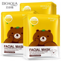 Маска с эссенцией зеленого чая Fasial Animal Mask (30г.), BIOAQUA